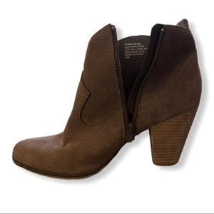 Steve Madden Ponncho Ankle Boots Size 9